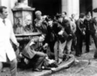 Anschlag des neofaschistischen Ordine Nuovo 1974 während einer antifaschistischen Demonstration auf der Piazza della Loggia in Brescia: 8 Tote, über 100 Verletzte: Heute Gegenstand des Versöhnungsprozesses