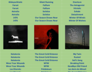 playlist - for whom the moon a nightsong sings 2017-04-30