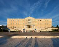 Syntagmaplatz und Parlament in Athen