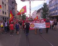"""Demonstration gegen Nazi-Aufmarsch """"Tag der deutschen Zukunft"""" in Karlsruhe, 3. Juni 2017"""