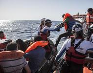 SOS Méditerranée im Einsatz