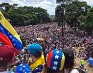 We Are Million Protestmarsch in Venezuela