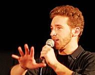 Nathan Trent beim OGAE-Jahrestreffen in München