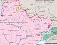 Änderungen und Pläne für die Grenzziehung zwischen der Ukrainischen und Russischen Sowjetrepubliken