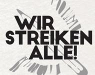 """Logo des Bündnisses """"Wir streiken Alle"""""""