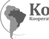 Das Logo von KoBra. Links ein Abbild von Südamerika auf dem Brasilien hervorgehoben ist. Rechts Namensschriftzug.