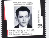 Briefmarke mit Georg-Elser