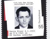 Briefmarke mit Georg-Elser
