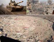 Zerstörungen in der Ostürkei und Nordsyrien