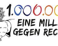 """""""Eine Million gegen Rechts""""-Logo"""