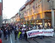 Demonstration auf der Ka-Jo