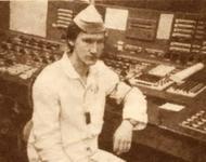 Aleksej Breus in der Zentrale des 4. Blocks des AKW Tschernobyl