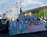 Straßenblockade von Extinction Rebellion Freiburg
