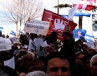 Bereits 2009 demonstrierten Tausende in Tiflis gegen die Regierung