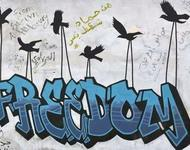 Freedom for Sudan Street Art Khartoumt