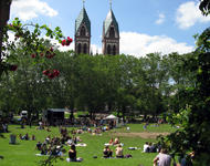 Stühlinger Kirchplatz
