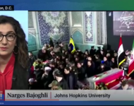 Professorin Narges Bajoghli, Johns Hopkins University