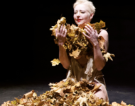 Butoh Performance Marion Steinfellner Goldlaub