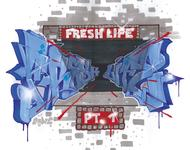 Das Cover des 1. Samplers von Fresh Life Records