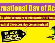 Solidarität mir den Textilarbeiter*innen