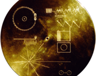 Die Goldene Schallplatte an den Raumsonden Voyager 1+2