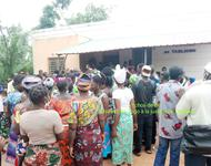 Demonstration bei Tabligbo gegen Scantogo