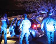 Polizei durchsucht Auto von Corona-Leuger:innen
