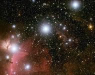 Blick ins Zentrum der Milchstraße