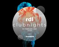 Artwork der rdl clubnights vom 13.02.2021