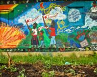 Wandbild EZLN