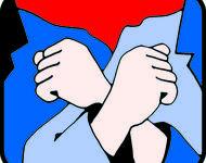 Das Logo der Roten-Hilfe