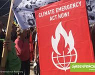 Climate Emergency - Act now!