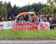 Anti-Atomprotest in Büchel