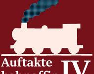 Loksymbol und Schriftzug für bahnaffine Auftakte IV