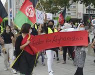 Freiheit für Afghanistan Kundgebung am 09.09.2021 in Freiburg