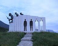 Gedenkstätte für deutsches NS Massaker in Distomo /Foto:John Nicolas Schweitzer(2007)