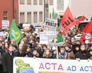 Foto von der Demo am 25.02.2012