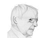 Volkmar von Braunbehrens. Zeichnung: http:://25000euro.de