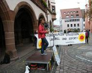 Anti-Atomkundgebung in Freiburg