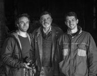 Von links: Tobias Müller, Konrad und Philipp Kienle. Foto: Sauacker.com