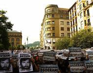 Demo für politische Gefangene im Baskenland 2008