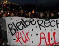 Flüchtlingsprotest bei IMK Quelle: Aktion Bleiberecht