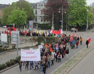 DGB-Demo 1.Mai Freiburg 2013-Alevitischer Block