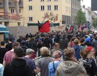 Libertäre Demo zieht ins Gruen (14Uhr)