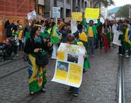 Brasilien Soli-Demo