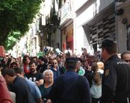 Verhinderte Räumung am 24.05.13 in Madrid - Foto: RDL