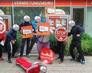 """""""Fitness für Zwangsräumungen – Fit für den Rausschmiss"""" Bild: http://zwangsraeumungverhindern.blogsport.de/"""