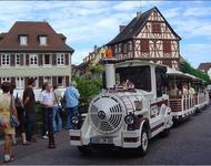 Zug durch Colmar