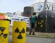 Protest gegen Atomforum